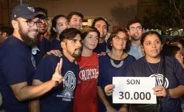Catamarca conmemoró  a 41 años del último golpe militar