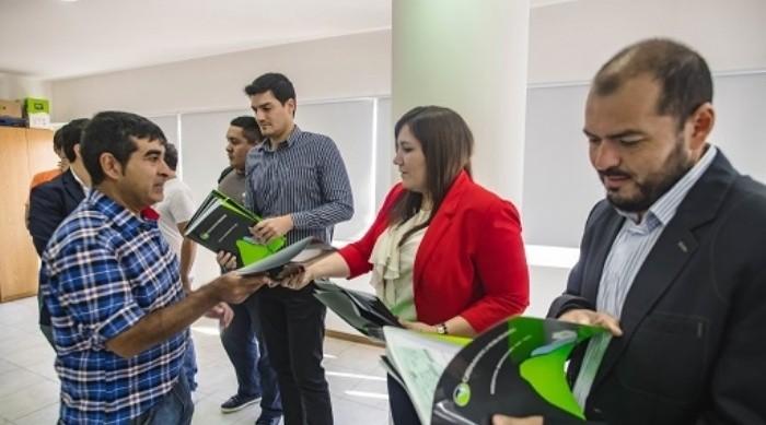 La Caja entregó 23 nuevos créditos y firmó un convenio con EC SAPEM