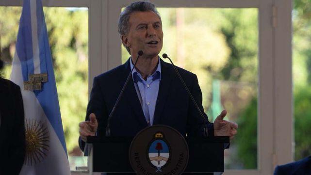 Macri anunció los indices de pobreza