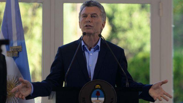 Macri denunció