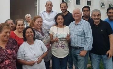 La Iglesia de SANTA ROSA recibio 35 Mil pesos de subsidio