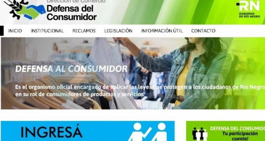Defensa del Consumidor: Se puede reclamar via web