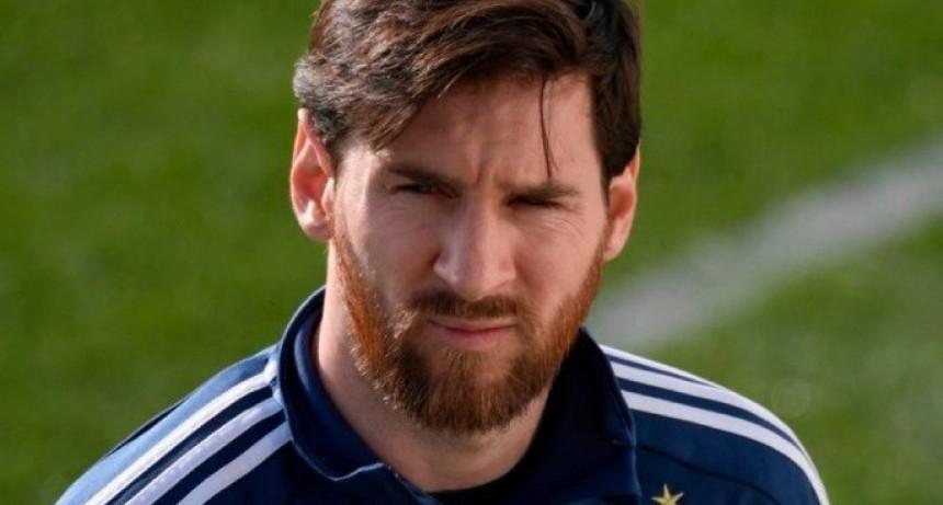 Messi quedó descartado para el amistoso ante España