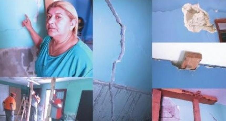 El IPV aclara sobre el reclamo por daños en una vivienda