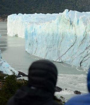 El glaciar Perito Moreno se rompió e inundó El Calafate