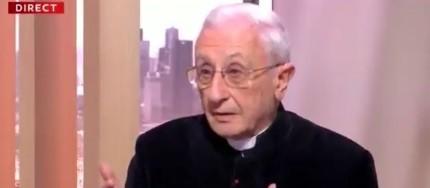 En un debate sobre pedofilia, un cura francés dijo que los niños