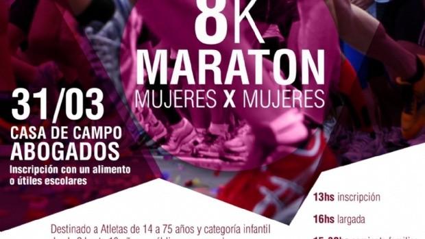 Primera maratón por el Mes de la Mujer