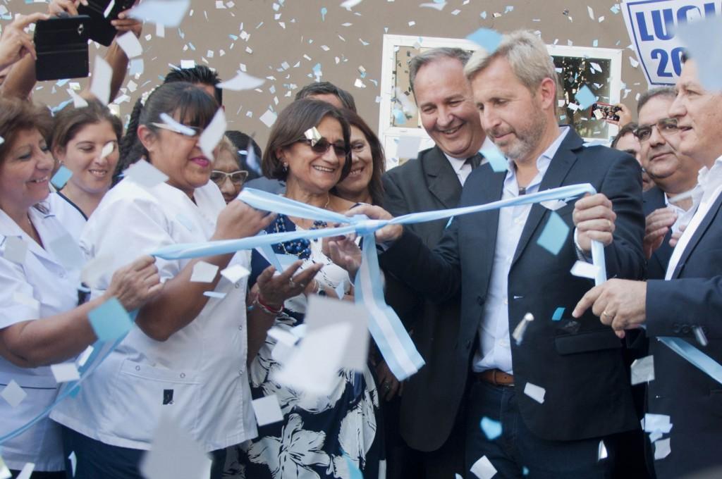 Frigerio y Corpacci inauguraron la ampliación del Hospital de Niños