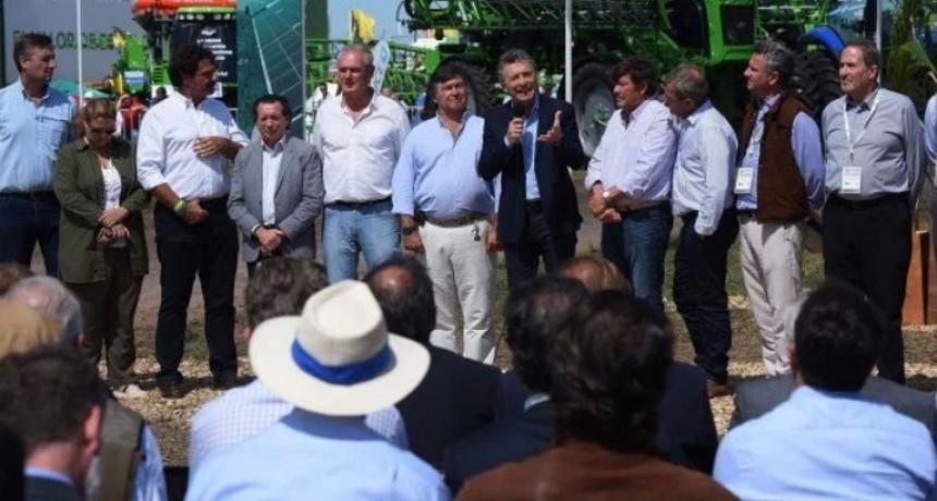 Grobocopatel y el respaldo del campo a Macri
