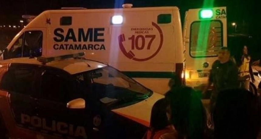 Dos policías lesionados en una persecución