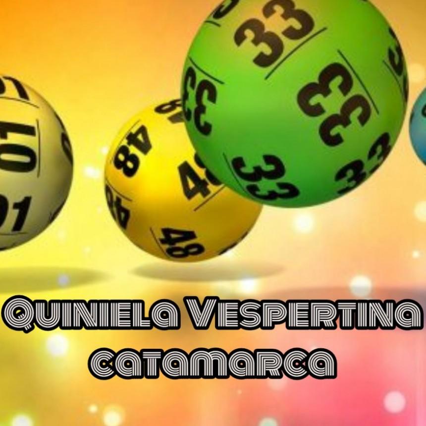 Resultado del sorteo de la Quiniela Vespertina