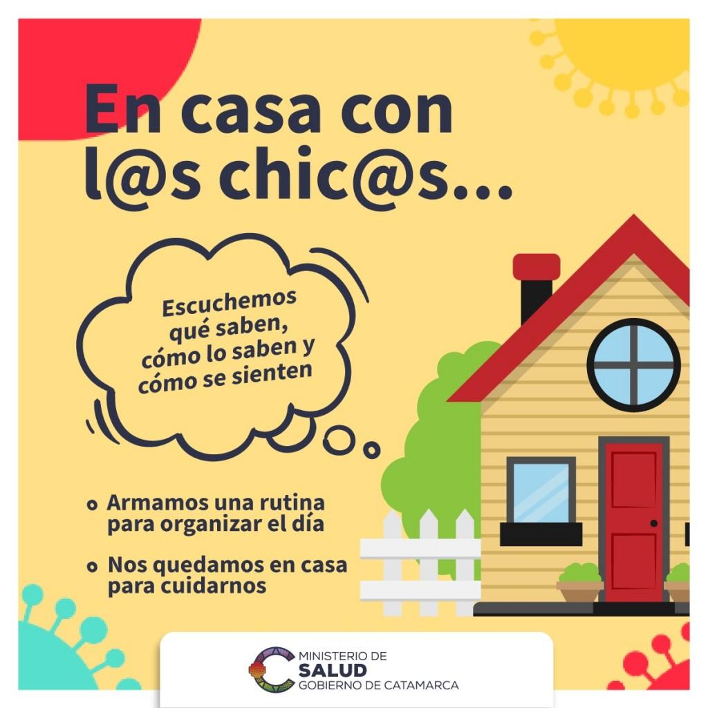 #MeQuedoEnCasa: Recomendaciones para cuidar tu salud durante el aislamiento