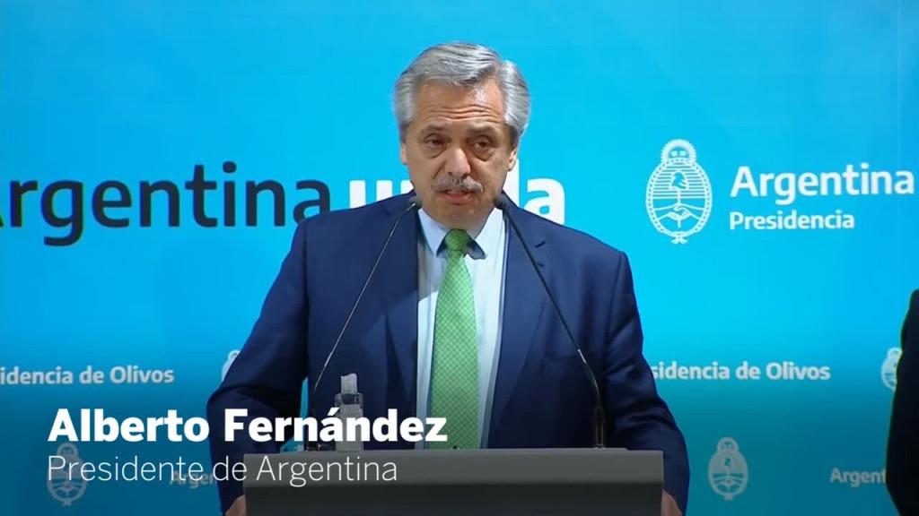 Alberto Fernández anunciaría la extensión de la cuarentena hasta el 12 de abril