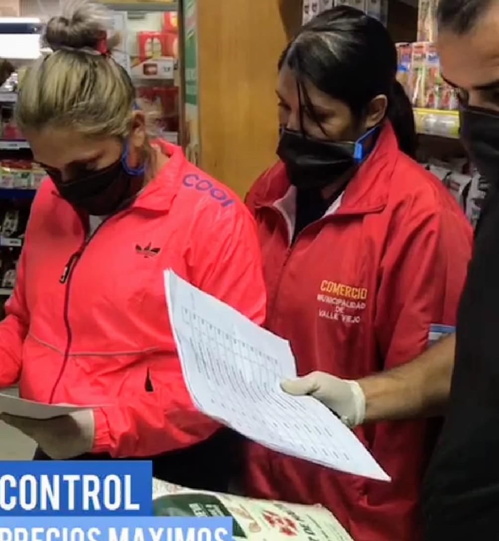 Controles de precios máximos en supermercados y distribuidoras de Valle Viejo