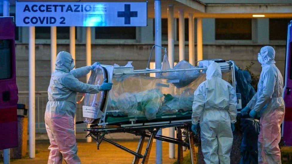Italia superó las 10 mil víctimas fatales por coronavirus