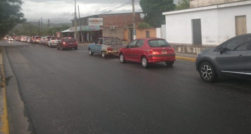 Cuarentena: En el municipio que conduce Zenteno, los automovilistas circulan como un día normal