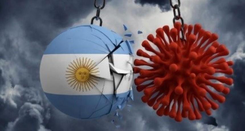 Un nuevo muerto elevó a 21 las víctimas fatales y a 820 los infectados con coronavirus en Argentina