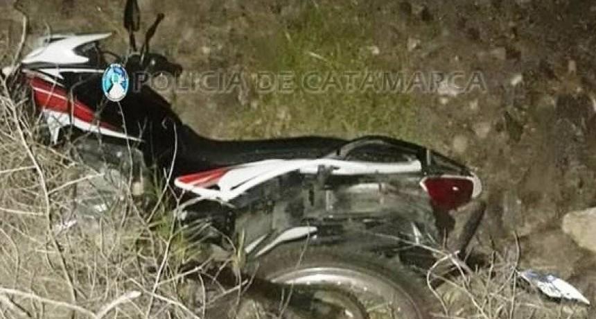 Siniestro vial fatal en la quebrada de Moreira