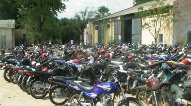 Secuestran 45 motocicletas en control vehicular en la Capital
