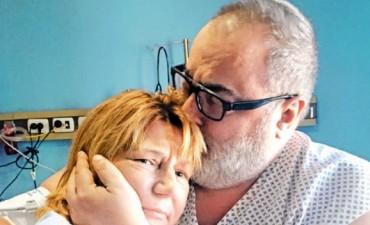 Lanata se encontró con la mujer que le donó el riñón