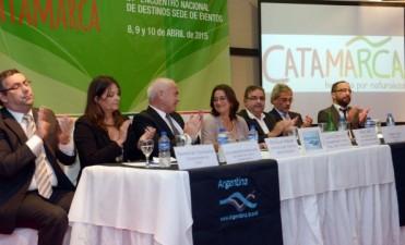 Lucia inauguró el 21° Encuentro Nacional de Destinos Sede de Eventos