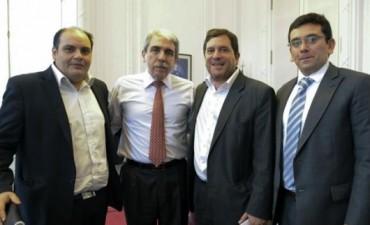Saadi se reunió con Aníbal Fernández