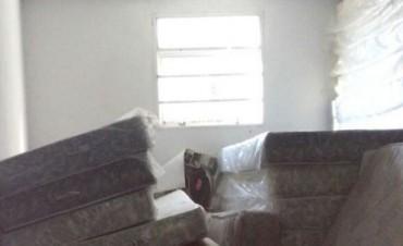 Casas Doering  no entregó donaciones por el alud