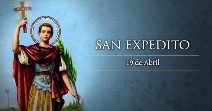 19 de abril- Hoy se celebra el día de San Expedito
