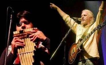Aldo Luna y Gustavo Patiño, juntos