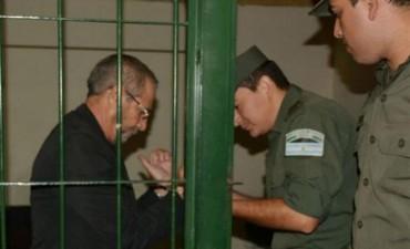 La primera foto de Ricardo Jaime entre rejas, a la espera de la indagatoria