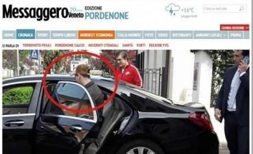 En absoluto misterio, Messi viajó a Italia por una consulta médica