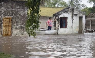 Alerta por más tormentas en las zonas inundadas del Litoral