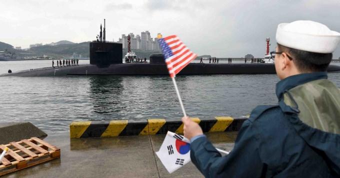 EE.UU.enviósubmarino nuclear y Norcorea