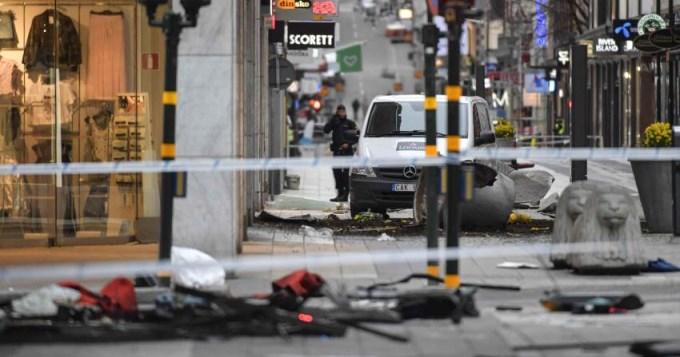 Detienen al presunto autor del atentado en Suecia