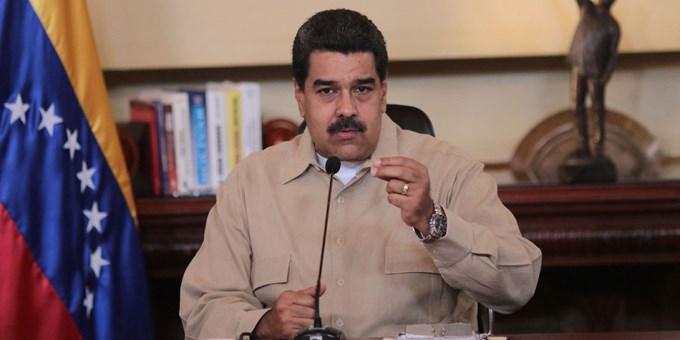 Maduro denunció intento de golpe de la oposición y EE.UU.