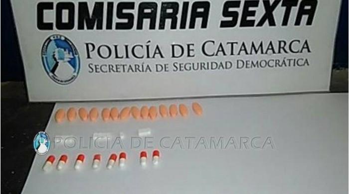 Preocupante: secuestran importante cantidad de pastillas en una escuela