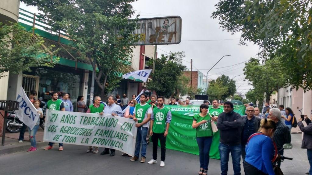 Protesta de Agronomia Familiar