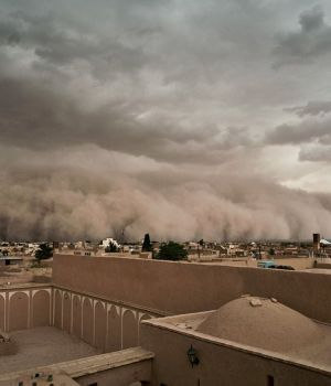 Dantesca tormenta de arena