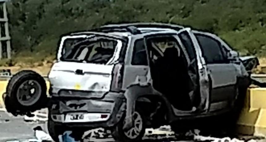 Una mujer falleció en un vuelco en la Circunvalación