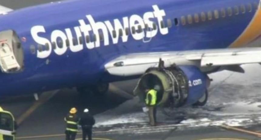 Se rompió la ventanilla del avión y murió succionada en pleno vuelo