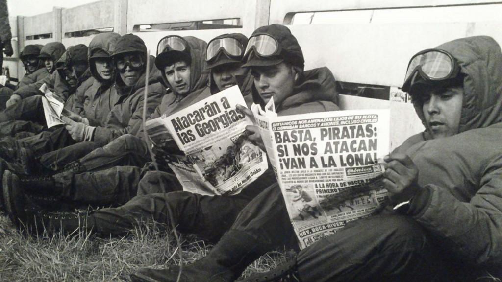 Las Fotos históricas de la Guerra de Malvinas