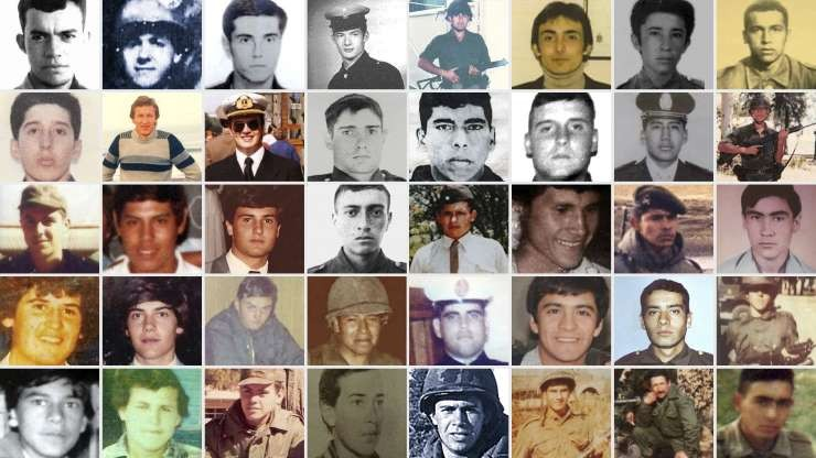 INFORME ESPECIAL: Uno por uno, quiénes fueron los soldados identificados en el cementerio de Malvinas