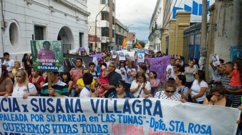Indagaron al esposo de Susana Villagra por su homicidio