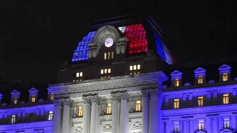 El Gobierno argentino manifestó su apoyo a Francia