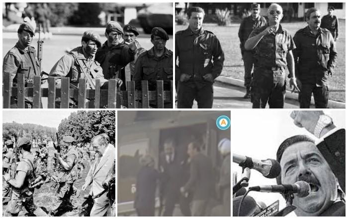Ricardo Alfonsín: Felices Pascuas a 32 años del primer levantamiento carapintada