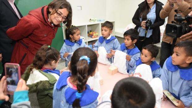 Corpacci inauguró nuevo jardín de infantes en Ribera del Valle