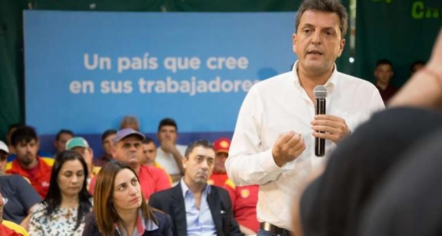 Sergio Massa presenta sus 10 compromisos nacionales para romper la polarización y apuntalar su candidatura