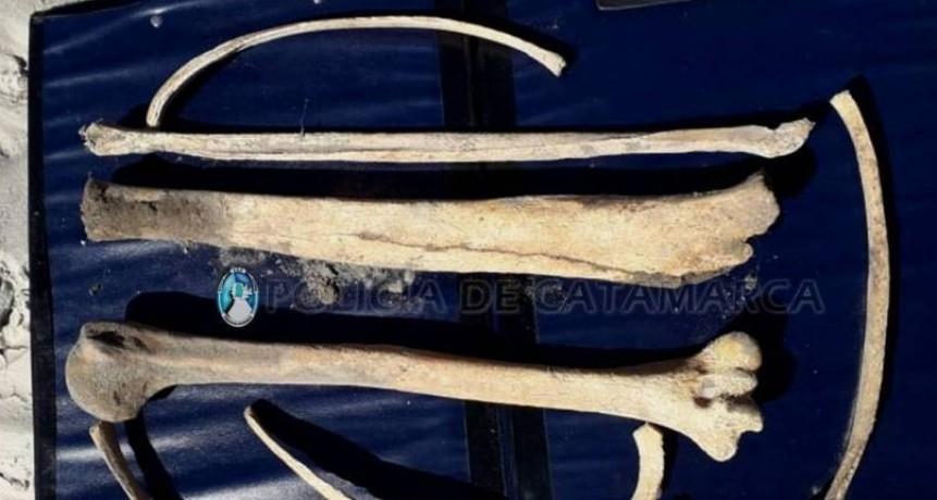Encuentran restos óseos en Santa María