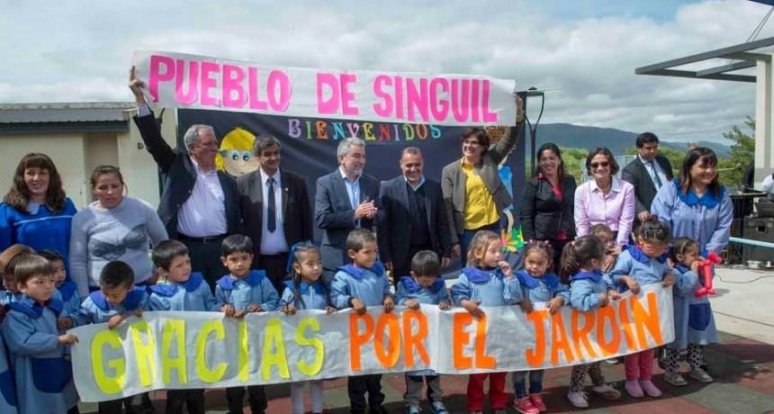 Inauguraron el nuevo edificio del JIN N° 27 en Singuil