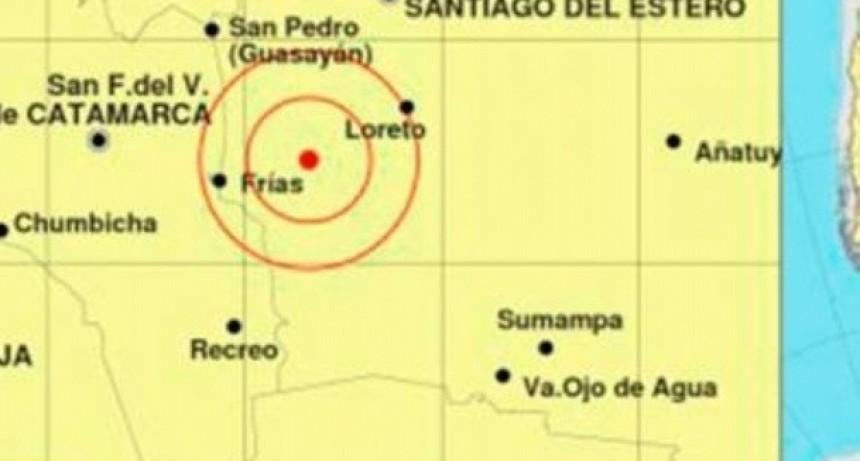 Un temblor se sintió en varias localidades del Este catamarqueño